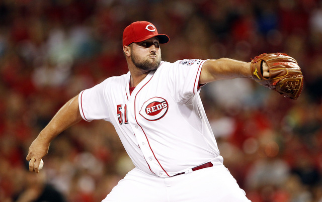 An elbow injury has sidelined Jonathan Broxton for a second time this year.