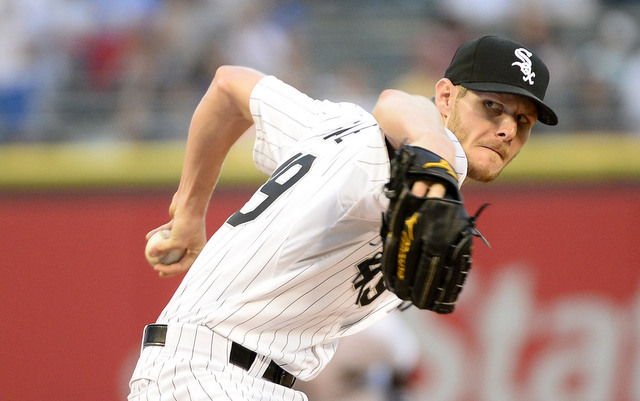 Sorry non-White Sox fans, Chris Sale is not going anywhere this winter.