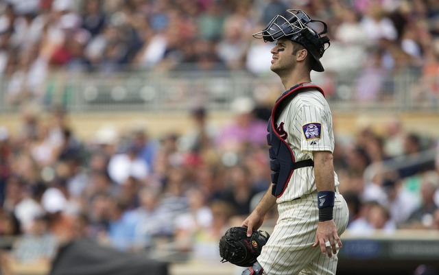 Joe Mauer's days at catcher may be numbered following his concussion.