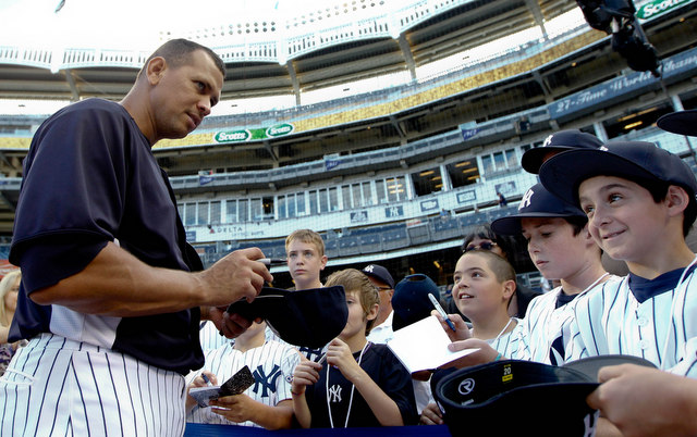 Hal Steinbrenner didn't close the door on A-Rod playing for the Yankees in the future.