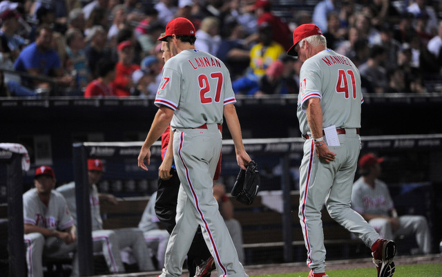 John Lannan's season likely came to an end on Wednesday night.