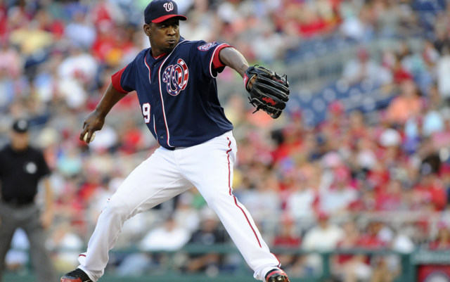 Rafael Soriano has been less than automatic for the Nationals in 2013.