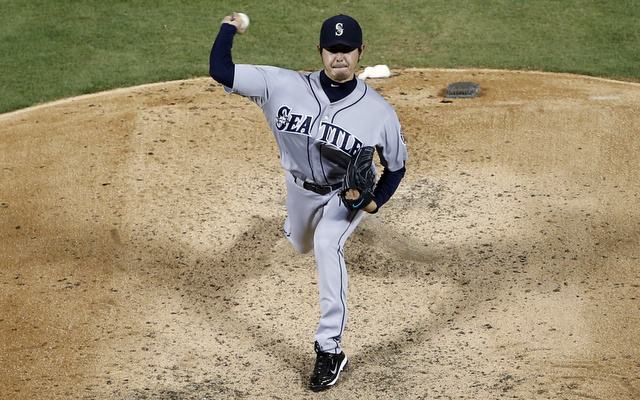 Mariners co-ace Hisashi Iwakuma figures to start the season on the DL.