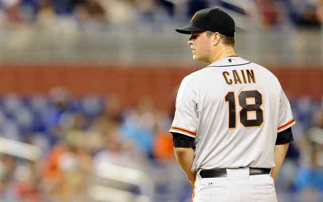 For the first time in his career, Matt Cain has landed on the DL.