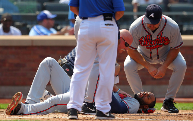Wednesday's plunking led to two plates being inserted into Jason Heyward's jaw.