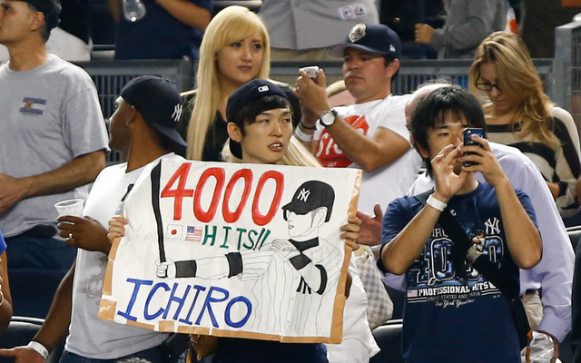 Pete Rose went on the defensive when asked about Ichiro possibly breaking his hit record.