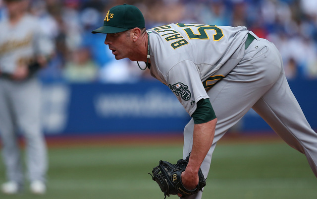 Once again, Grant Balfour is a popular free agent target.