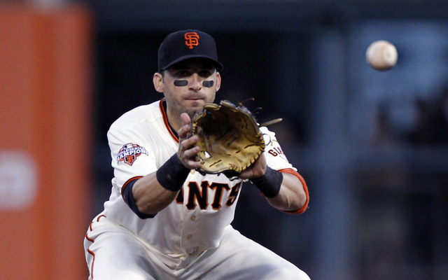 Marco Scutaro may not be ready in time for the start of the regular season.