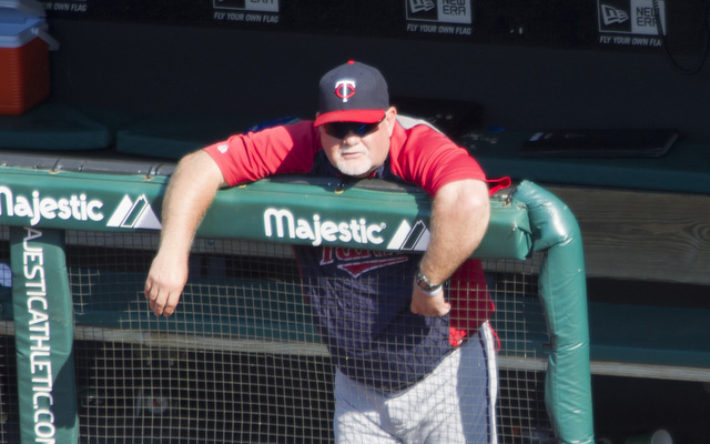 Ron Gardenhire will be back behind the bench for the Twins in 2014.