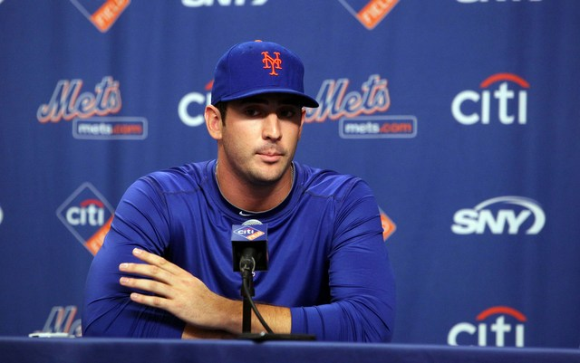 Matt Harvey has a new contract for 2014, during which he'll rehab from Tommy John surgery.