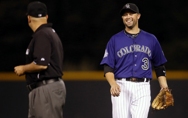 The Rockies already have a first base solution on their roster.