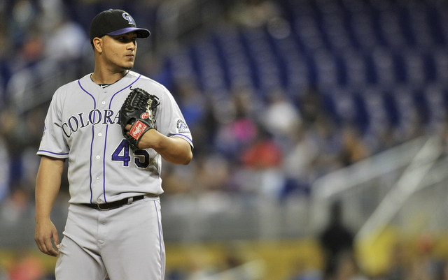 The Rockies aren't going to the playoffs, but Jhoulys Chacin emerged as a top flight starter.
