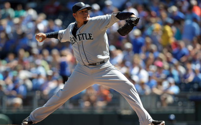 The Mariners had a little bit of a scare with Felix Hernandez on Monday.