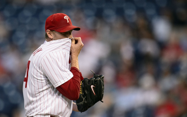 Roy Halladay hasn't been the same pitcher following shoulder surgery.