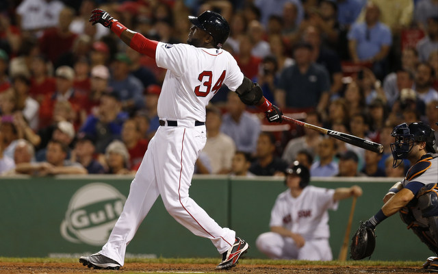 David Ortiz and friends teed off against the Tigers on Wednesday.