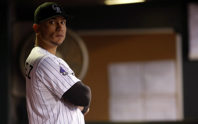 An appendectomy could delay the start of Carlos Gonzalez's camp.