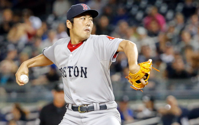 Red Sox righty Koji Uehara has been perfect for nine straight outings now.