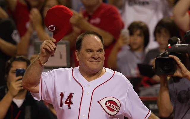 Pete Rose is one again stating his case for the Hall of Fame.