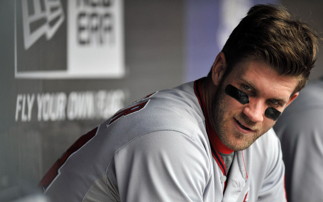 Bryce Harper's offseason plan: no surgery, grow exponentially.