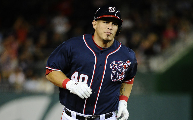 Once again, the Nationals have lost Wilson Ramos to injury.