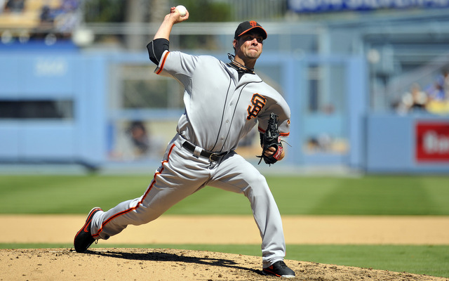 Ryan Vogelsong will be back in San Francisco in 2014.