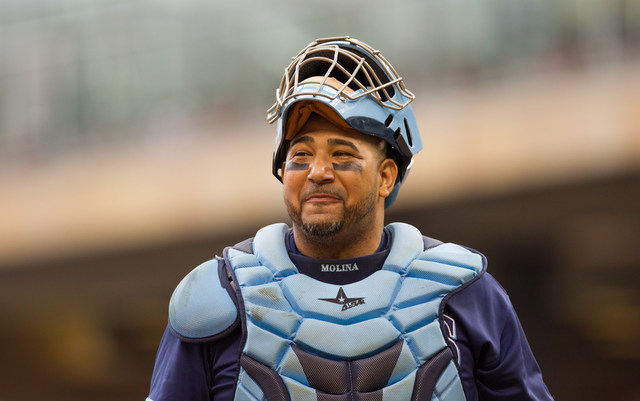 Jose Molina will be back behind the plate for the Rays next season.