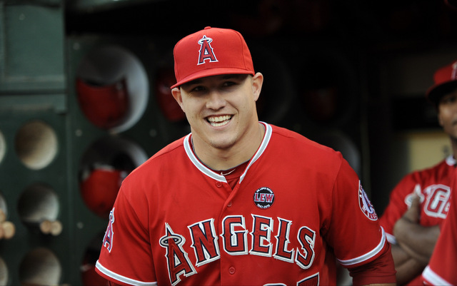 The Angels aren't going to the playoffs, but at least they have Mike Trout.