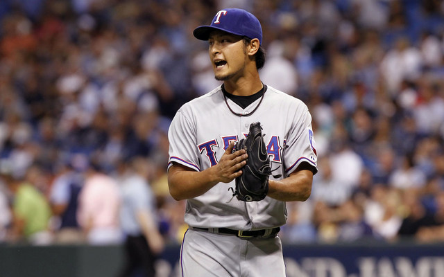 Yu Darvish was pitching through pain in the final weeks of the regular season.