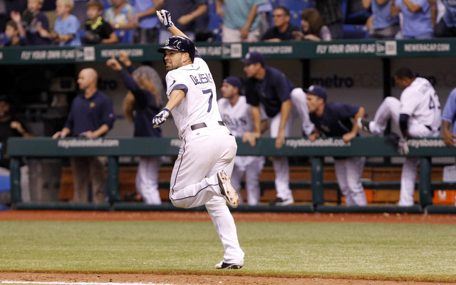 David DeJesus is returning to the Rays for at least another two seasons.