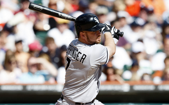 The White Sox cut ties with Jeff Keppinger.