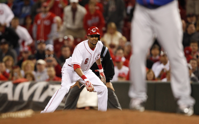 The Reds are giving their center field and leadoff spots to Billy Hamilton.