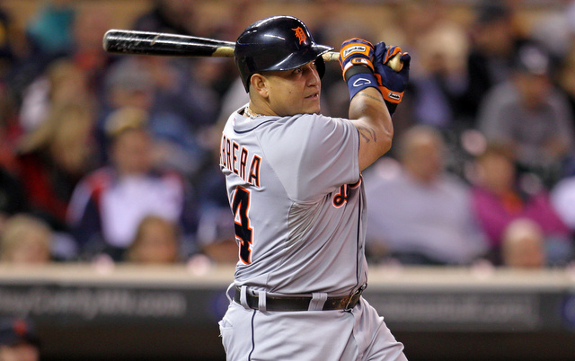 Our perfect third baseman looks a lot like Miguel Cabrera, at least offensively.