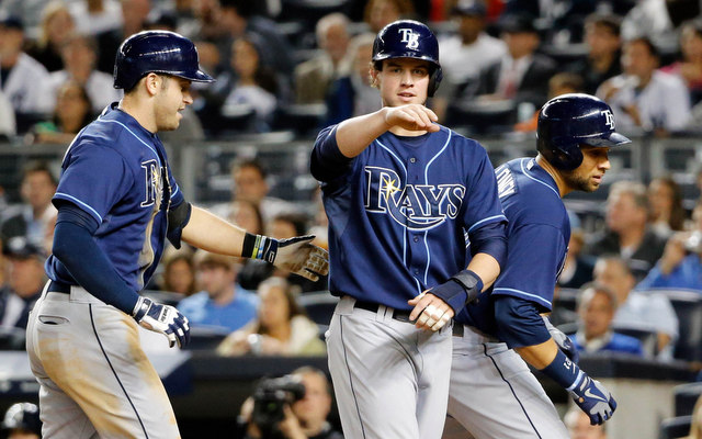 The Rays could clinch at least a share of a wild-card spot on Thursday.