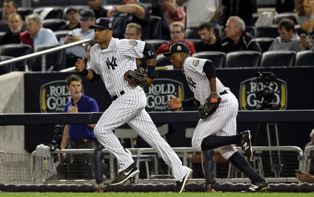 Both Robinson Cano and Curtis Granderson left the Yankees for new teams on Friday.