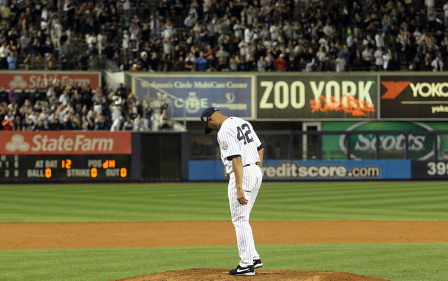 We'll see Mariano Rivera at his Hall of Fame induction in five years.