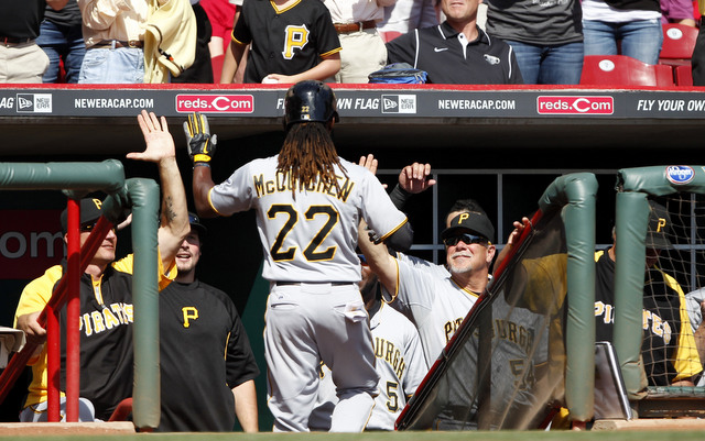 Andrew McCutchen and the rest of the Pirates will be home for the wild-card game.