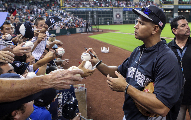 A-Rod's tell-all books is in the works.