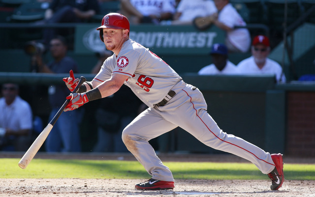 Kole Calhoun is no Mike Trout, but he's another productive homegrown outfielder for the Angels.