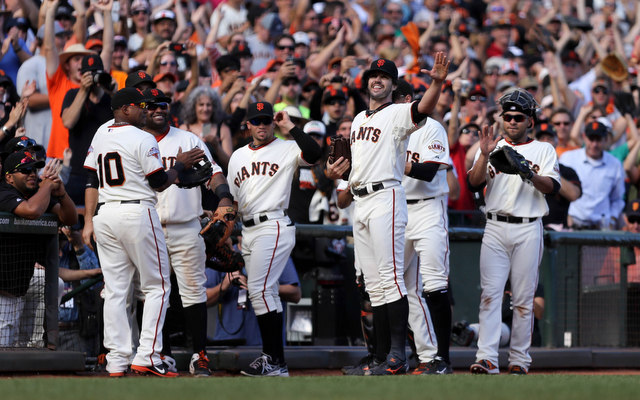 The Giants officially waved goodbye to Barry Zito on Saturday.