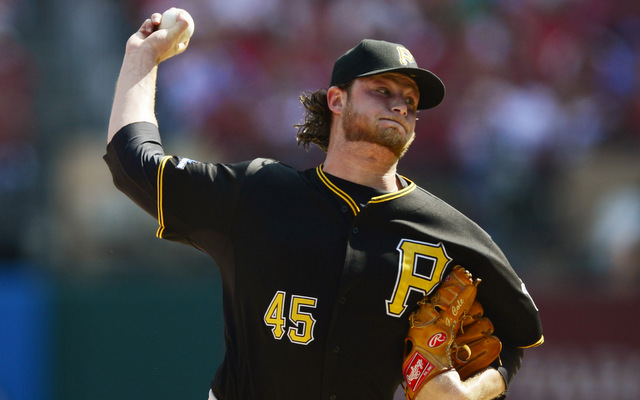 Rookie right-hander Gerrit Cole led the Pirates to win in Game 2 of the NLDS.