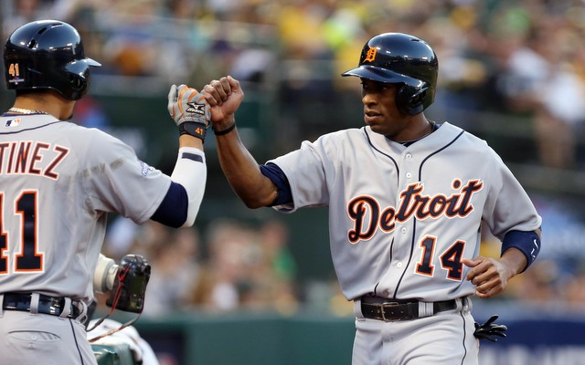 The Tigers need to get Austin Jackson going from the leadoff spot.