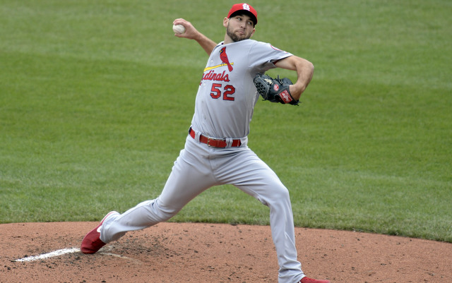 Michael Wacha was close to unhittable in NLDS Game 4.