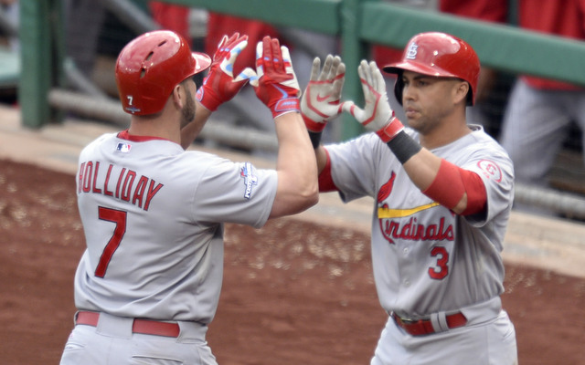 The Cardinals need someone other than Matt Holliday and Carlos Beltran to hit in the NLDS.