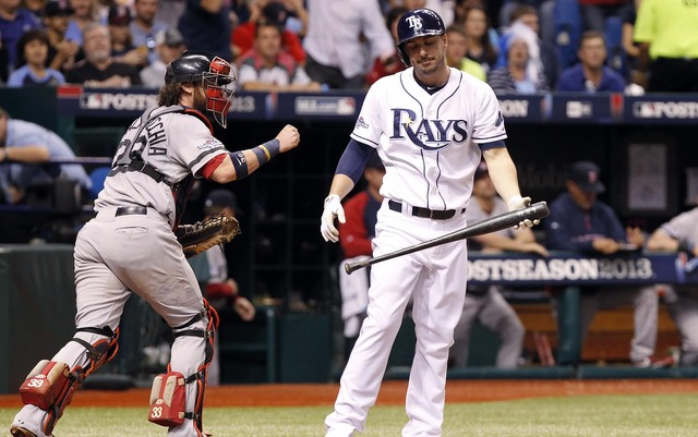 The Rays' season came to an end in Game 3 of the ALDS on Monday night