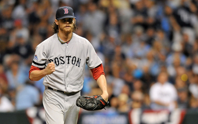 A regular season injury has left Clay Buchholz nice and fresh for the postseason.