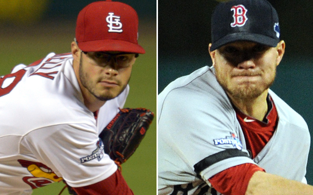 Youngster Joe Kelly vs. veteran Jake Peavy is the matchup in Game 3.