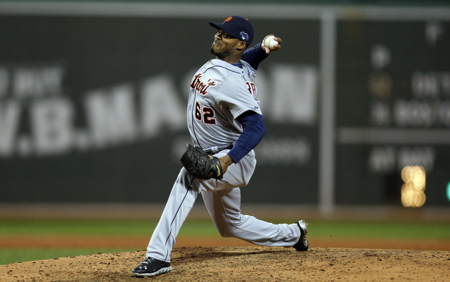 Al Alburquerque caught the Red Sox off guard with his fastball in Game 1.
