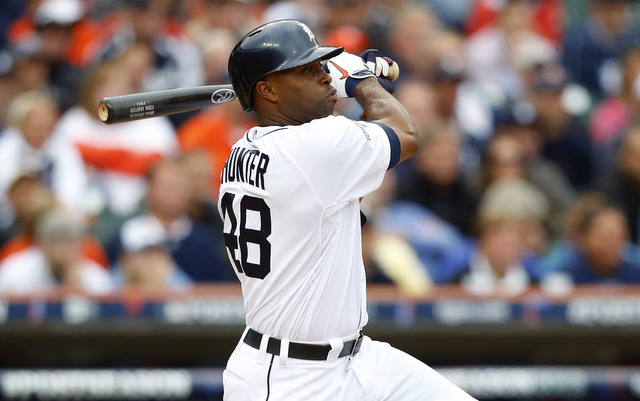 Torii Hunter is batting leadoff for the first time since 1999 in Game 4.