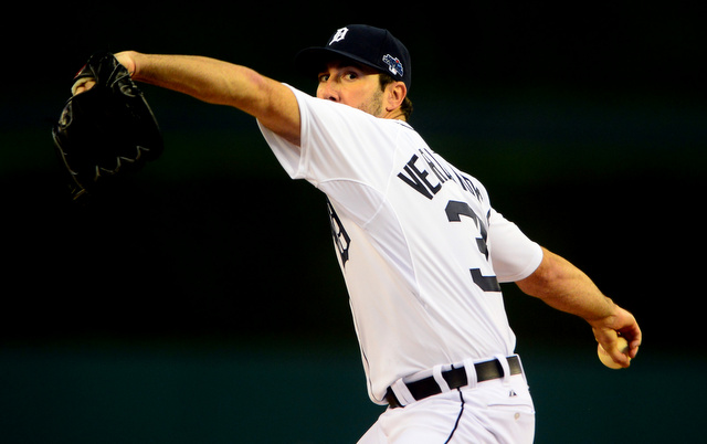 A core muscle injury could delay the start of Justin Verlander's season.