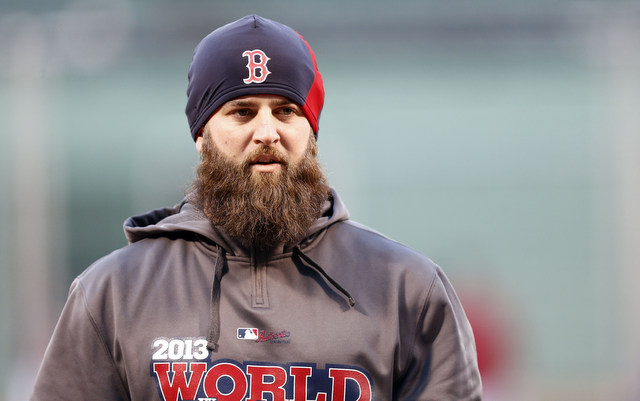 Mike Napoli will return to Boston for another two years.